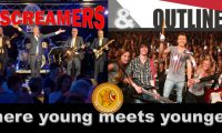 The Screamers & Outline  – Where young meets younger